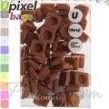 2015 Upixel bags Малки силиконови чипове Coffee WY-P002-Q