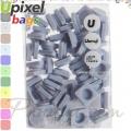 2015 Upixel bags Малки силиконови чипове Cloud Blue WY-P002-P