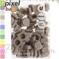 2015 Upixel bags Малки силиконови чипове Stone Grey WY-P002-S