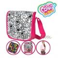 Color Me Mine Модерна чанта за оцветяване Messenger bag LadyBird